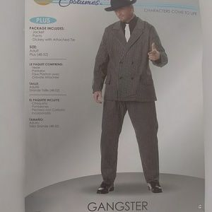 California Costumes Gangster Halloween Costume